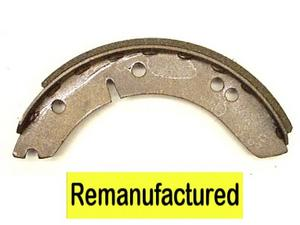 MG TF Front And Rear Bonded Brake Shoes 228.6mm Diam ( 9.00 )