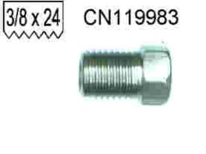 Brake Pipe Stainless Steel Tube Nut .375 x24