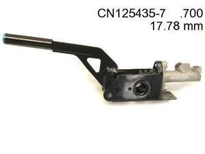 Hydraulic Hand Brake Lever Horizontal with ( .700 ) Master Cylinder
