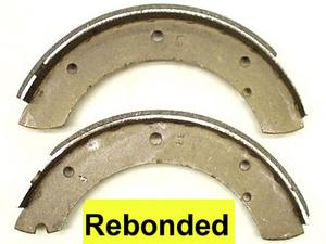 Austin Sheerline Rear Brake Bonded Shoe Set 304.8mm  ( 12.00 )