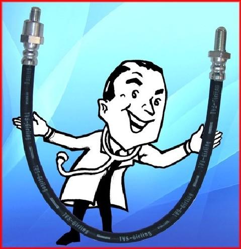 Rubber brake hoses