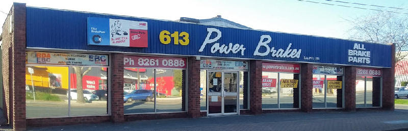 Power Brakes  frontage on North East Road Gilles Plains