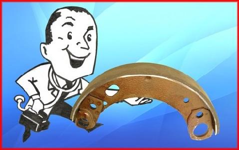 Brake Doctor with a bonded brake shoe