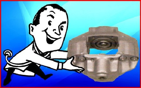 Brake doctor with caliper assembly